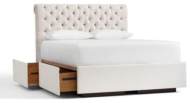 transitional-platform-beds